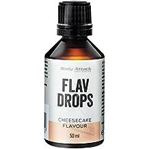 Body Attack Flav Drops, Käsekuchen, 1er Pack (1 x 50 ml)