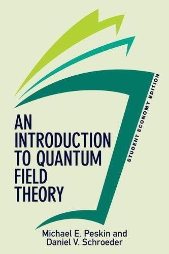 Schrders the best amazon price in savemoney an introduction to quantum field theory student economy edition frontiers in physics fandeluxe Image collections