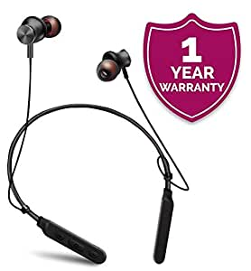 Forestone M8 Wireless Headphones Sports Neckband Waterproof Magnetic Wireless Headset HD Stereo Noise Cancelling Earbuds Sweatproof Foldable Gym Running Workout