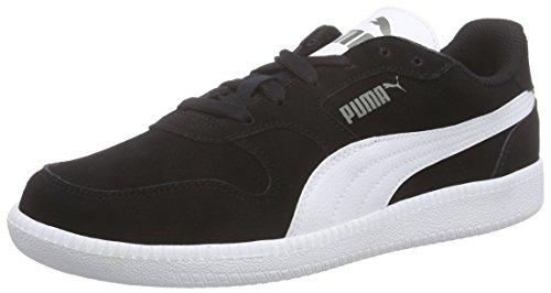 Puma Icra Trainer SD Jr, Unisex-Kinder Sneakers, Schwarz (Black-White 07), 39 EU (6 Kinder UK)