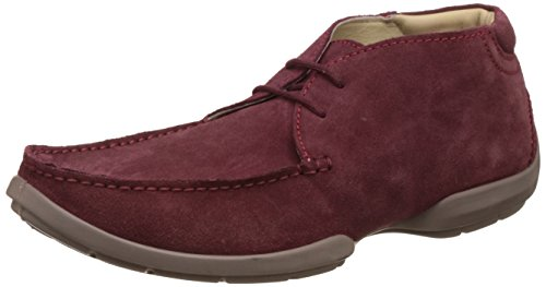 Woodland Men's Cherry Leather Sneakers – 7 UK/India (41 EU) 410pSwlPJVL