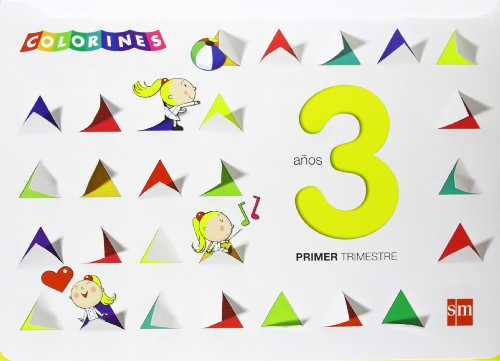 Colorines. 3 años, 1 trimestre - 9788467560732