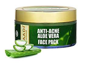 Vaadi Herbals Anti Acne Aloe Vera Face Pack, 70g