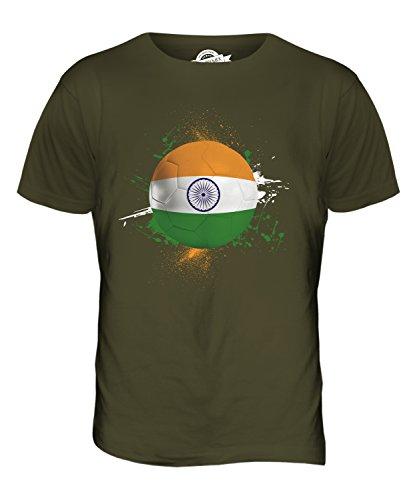 CandyMix Indien Fußball Herren T Shirt Khaki Grün