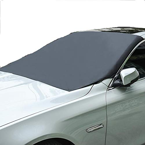 JOYJUNE Frontscheibenabdeckung Mit Magnet Sonnenschutz UV-Schutz Frontscheibe Frostabdeckung Geeignet für die meisten Autos