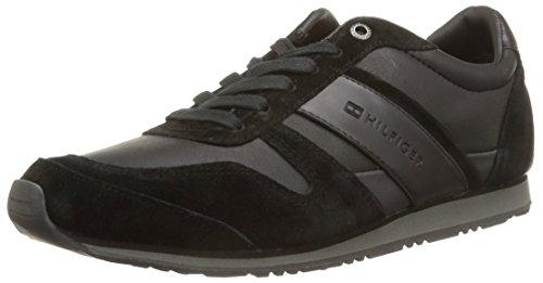 Tommy Hilfiger Maxwell 4C, Sneaker, Uomo, Nero (990), 42