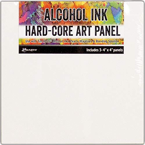 Hard-panel (Ranger Tim Holtz Alcohol Ink Hard Core Art Panel 4