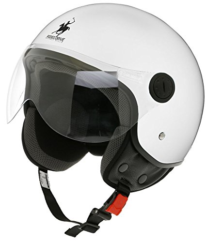 Scotland Casco D/Jet Desmontable, Blanco, 57-58 (M)