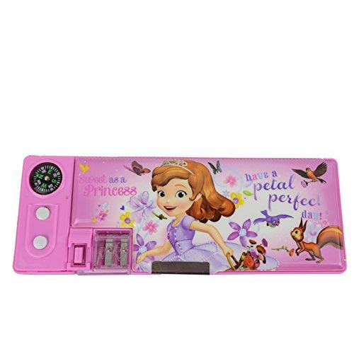 Disney Princess Sofia multifunzionale cassa di matita / matita-box 83013S (Rosa)