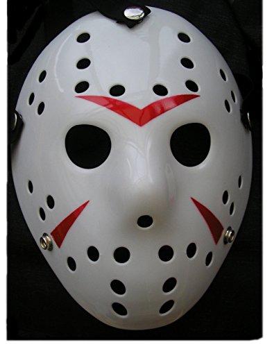 Jason Hockey Maske Weiss