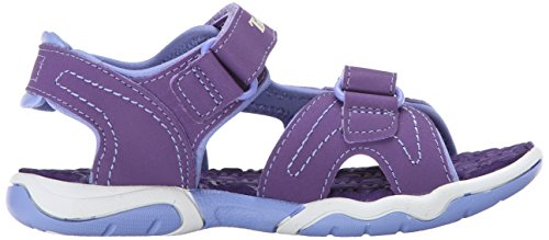Timberland Advskr 2strp, Sandales Bout Ouvert Mixte Enfant Violet (Purple With Periwinkle)