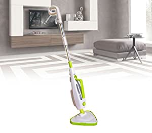 Scopa a vapore elettrica 12 in 1 Superior Clean DICTROLUX 1500 W sistema ecology igienizzante 889700. MWS