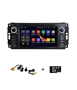 smartnavi android 7 1 auto stereo gps dvd player f r jeep. Black Bedroom Furniture Sets. Home Design Ideas