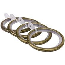 Rumore Anelli Per Tende 10pcs Metallo Silenziatore