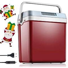 Idea Regalo - Frigo Portatile Termoelettrico AC/DC, 12/220v, 26 L Casa Auto Camper Frigo Portatile Funzione MAX/ECO