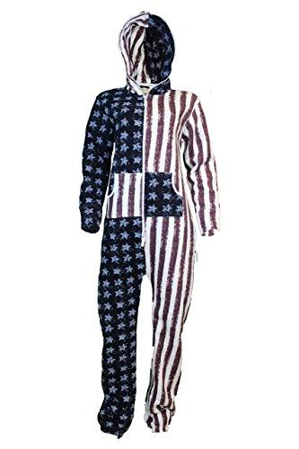 Fashion Oasis -  Monopezzo  - Donna USA Flag Print