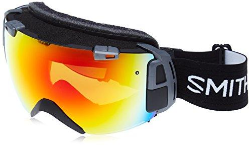 Smith Herren Skibrille I/O Recon Red Sol-X SP AF-Brille schwarz