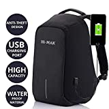 #7: Techhark Multi Functional Anti Theft Laptop Bag Laptop Backpack (Black)