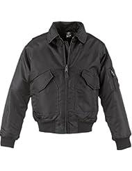 Giacca da pilota giacca CWU Brandit, colore nero, Nero (nero), M