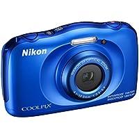 'Nikon COOLPIX W100Digitalkamera kompakt, 13,2Megapixel, LCD 3, Full HD, Blue [Nital Card: 4Jahre Garantie]