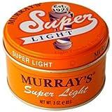 Murray's Lite Pomade & Hair Dressing - Super Light - 3 oz.