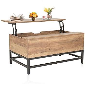 wewow h henverstellbarer couchtisch mit ablagefach. Black Bedroom Furniture Sets. Home Design Ideas