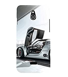 EPICCASE Cool car Mobile Back Case Cover For Infocus M2 (Designer Case)