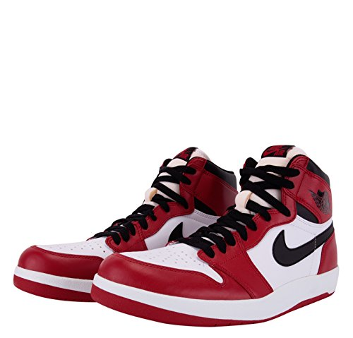 Nike Air Jordan 1 High the Return, Chaussures de Sport Homme, Taille Multicolore - Rojo / Negro / Blanco (Varsity Red/Black-White)