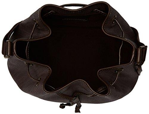 Timberland Tb0m5568, Borsa a Secchiello Donna, 17x32x27 cm (W x H x L) Marrone (Black Coffe)