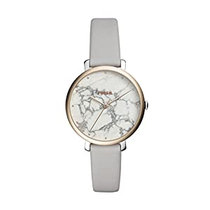 Fossil Moterims Analog Quarz Smart Watch Rankinis Laikrodis mit Leder Armband ES4377