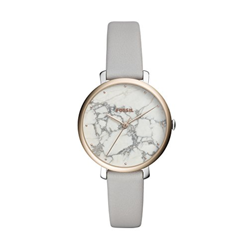 Fossil Womens Analogue Quartz Watch with Leather Strap ES4377