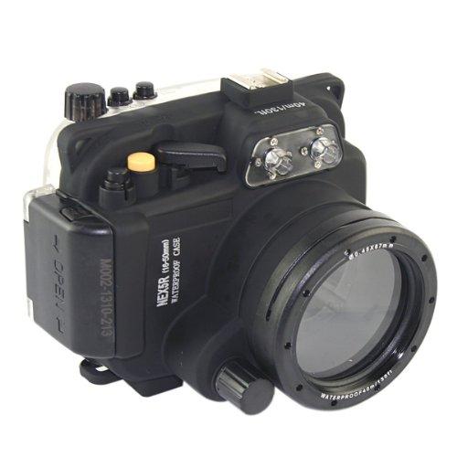CameraPlus - Unterwasser digitalkamera - Unterwassergehäuse für Spiegelreflexkamera (Häuse Sony NEX5R 16-50mm Objektiv)