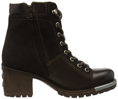 FLY London Leal689fly, Bottes Classiques Femme Marron (Dk.brown/expresso 001)