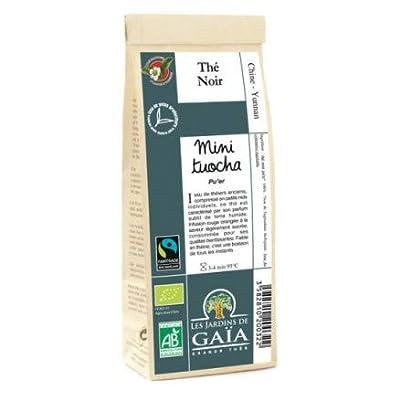 Les Jardins de Gaïa Thé Noir Pu Erh Mini Tuocha 100 g