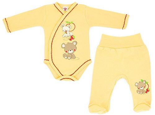 makoma-baby-unisex-erstausstattung-set-aus-wickelsbody-und-stramplerhose-gelb-sito-62