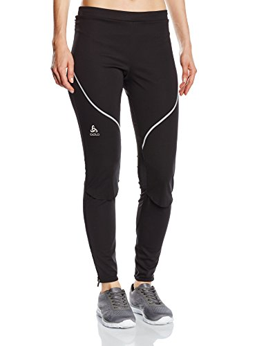 Odlo Damen Skifahren Pants Muscle Light Logic Hosen Lang Da Da, black, L