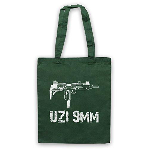 Uzi 9mm Gun Umhangetaschen Dunkelgrun