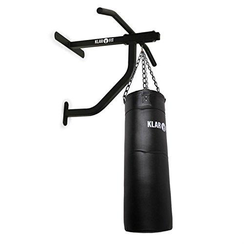 KLAR FIT First Strike Saco de Boxeo y Barra de dominadas - Entrenamiento Multifuncional