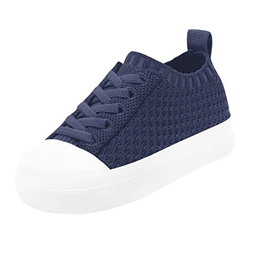 Native nativeJefferson 2.0 Liteknit Child - 23100119 Mädchen, Blau (Regatta Blue/Shell White), 30 M EU Kleines ()