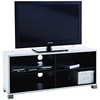 Demeyere 453218 Banc TV Blanc/Noir 101 cm