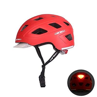 Cairbull Men/Women 2019 new In-Mold Cycling Helmet with Sun Visor 56-61cm Road Mountain Bike Pneumatic TT Racing Riding Helmet by Cairbull