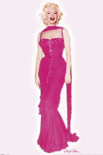 Marilyn Monroe - Pink Dress Poster Drucken (60,96 x 91,44 (Pink Marilyn Monroe Dress)