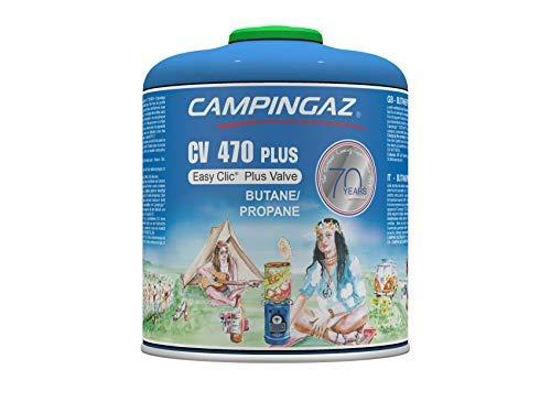Campingaz CV 470 Plus Ventil Gas Kartusche, für Campingkocher, mit Aufsteckventil, Butan-Propan Mischung