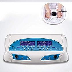 MYLW Ionic Detox Fußbad Maschinen-Systems, Körper Detox Ionen Array Fußbad Spa Reinigen Entgiftungsmaschine mit LCD, weitem Taillengurt Verbessern Sie Ödeme Körperermüdung Arthritis