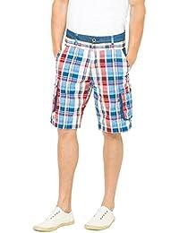 Desigual BERMUDA CUADROS - Short - Homme