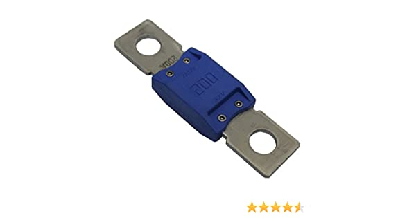 Zekeringen Overig Heavy Duty 50 AMP Strip Link Fuses & Fuse Holder Suitable For Midi & Strip Fuses