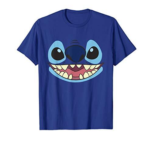Disney Lilo & Stitch Big Face Costume T-Shirt (Disney Stitch Hoodie Kinder)