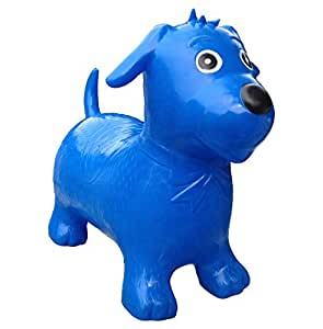 Happy Hopperz Dog - 12+ Months Small Toddler, Blue
