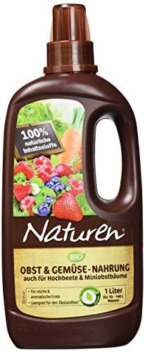 Naturen Bio Obst und Gemüse Nahrung, 1 L - Nahrung Pflanzliche Flüssige