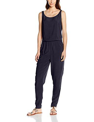ONLY Onlnova Solid S/L Jumpsuit Wvn, Tuta Donna, Blu (Night Ske), W38